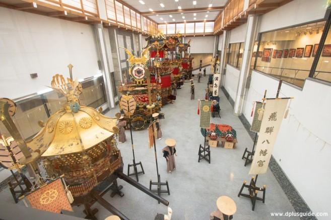 เที่ยวญี่ปุ่น ชมขบวนแห่รถโบราณจัดขึ้นปีละ2ครั้ง ได้ที่ พิพิธภัณฑ์ Takayama Festival Floats Exhibition Hall