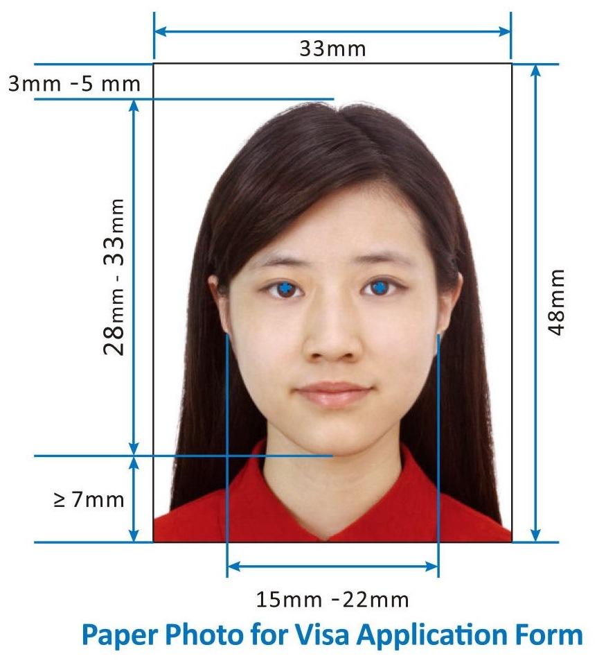 สถานฑูตจีนออกกฎระเบียบใหม่เกี่ยวกับรูปภาพสำหรับใช้ยื่นขอวีซ่าเข้าประเทศจีน
