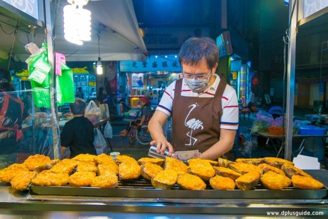 เที่ยวไต้หวัน ตลาดกลางคืน Ningxia ปลาย่าง