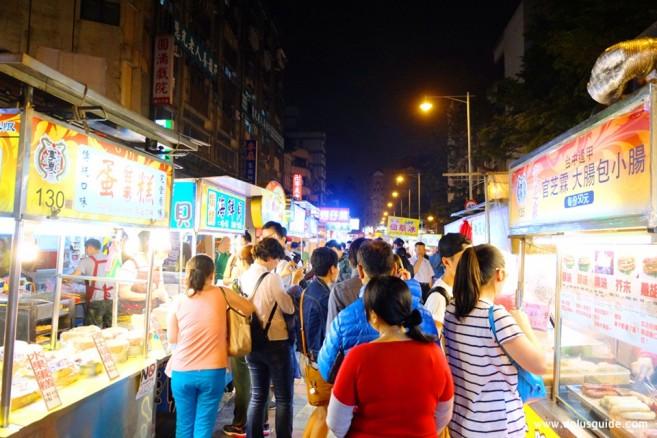 เที่ยวไต้หวัน ตลาดกลางคืน Ningxia