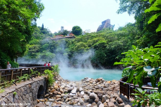 เที่ยวไต้หวัน ชมวิวบ่อน้ำพุร้อนธรรมชาติได้ที่ห้วย Thermal Valley