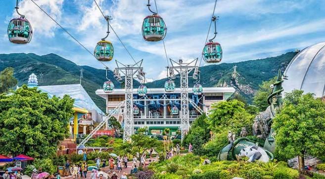 Ocean Park แหล่งท่องเที่ยวฮ่องกง แบบสนุกสุขสันต์ทั้ง