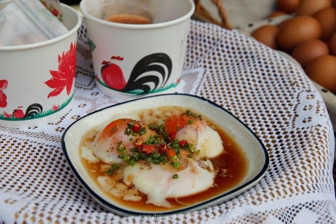 ไข่ออนเซ็นฉบับไทย! ยำไข่น้ำแร่แจ้ซ้อน ของดีจ.ลำปาง