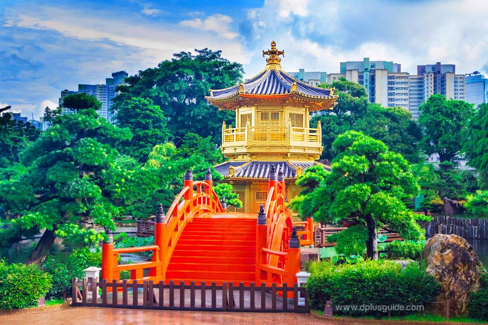 เที่ยวฮ่องกง ชมสวนสาธารณะหนานเหลียน (Nan Lian Garden)