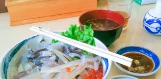 """ร้าน TA-BI-JI ชิม """"ข้าวหน้าปลาหมึก"""" เมนูเลื่องชื่อของเมือง Hakodate"""