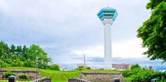 หอคอย Goryokaku จุดชมวิวป้อมดาวห้าแฉก เมือง Hakodate