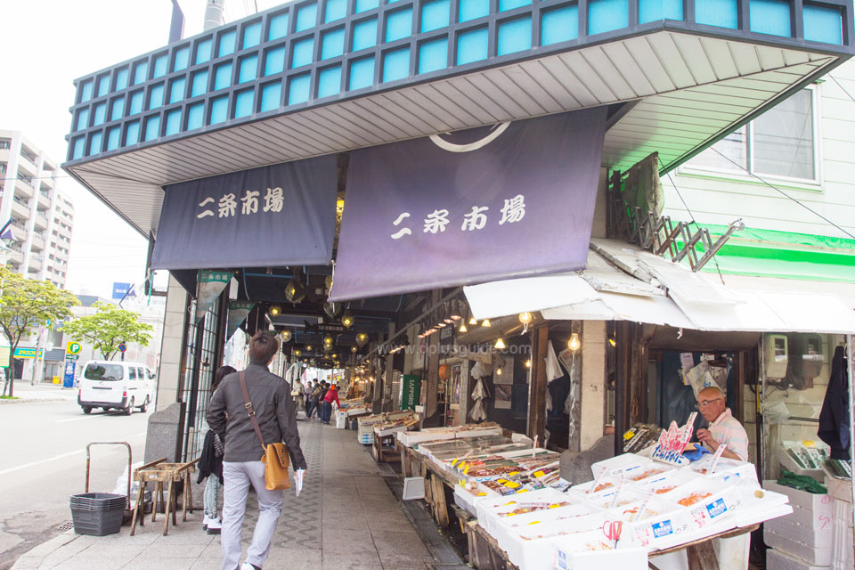 Nijo Fish Market เที่ยวตลาดปลานิโจ แหล่งของสดเมืองซัปโปโร