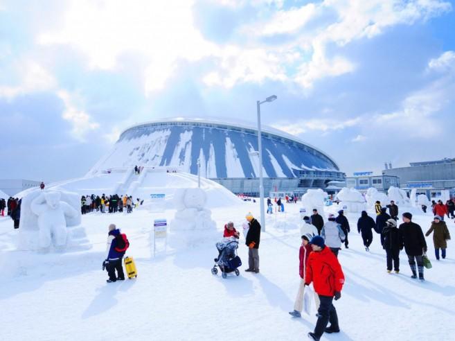 งานเทศกาลหิมะที่ซัปโปโร (Sapporo Snow Festival)
