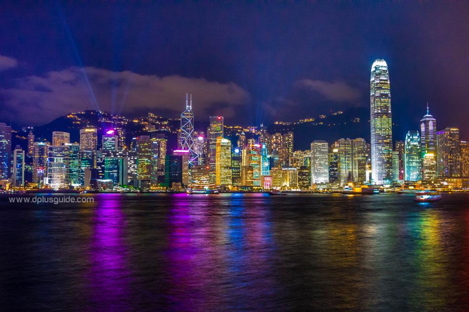 เที่ยวฮ่องกง ชมโชว์ยิ่งใหญ่ริมอ่าววิคตอเรีย A Symphony of Lights