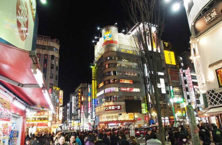 Shinjuku (Tokyo) แหล่งช้อปปิ้งที่ญี่ปุ่น