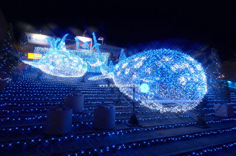 พิพิธภัณฑ์สัตว์น้ำไคยูคัง (Osaka Aquarium Kaiyukan) พิพิธภัณฑ์สัตว์น้ำในร่มใหญ่สุดในโลก ที่โอซาก้า