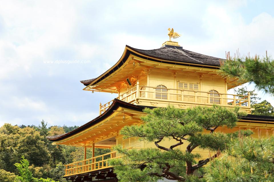 เที่ยวญี่ปุ่น ชมความงามของปราสาททอง ที่วัดคินคะคุจิ (Kinkaku-ji) จังหวัดเกียวโต