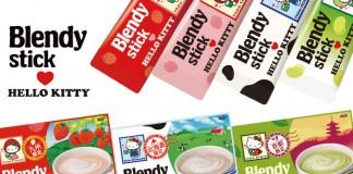 Hello Kitty × Blendy Stick ชาพร้อมชงรุ่น limited 7 รส 7 ภูมิภาค ของฝากจากเที่ยวญี่ปุ่น