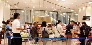 3 ร้านขนมอร่อยคิวยาวที่ห้าง Hankyu โอซาก้า (Osaka)