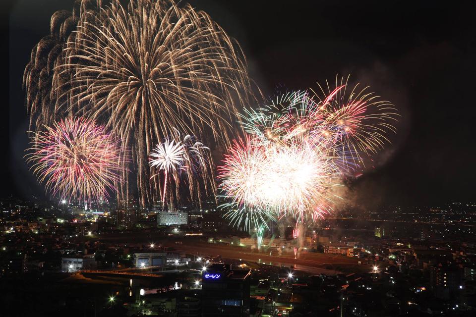 เทศกาล Fukui Phoenix Festival 2014