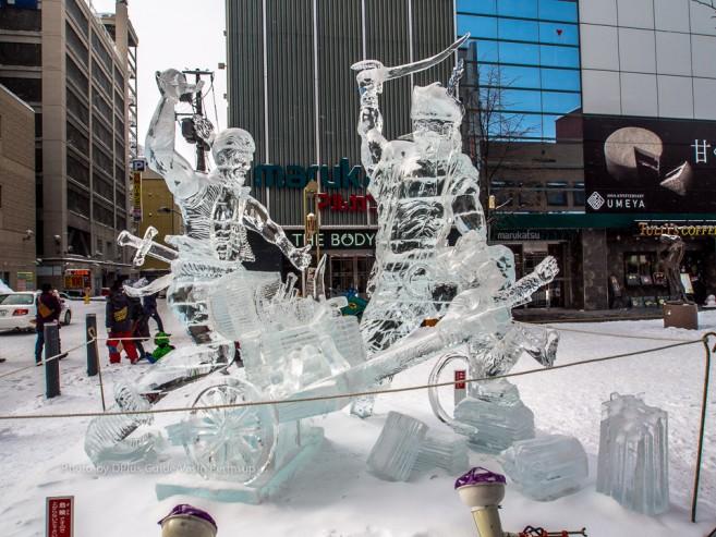 เทศกาลฤดูหนาวเมือง Asahikawa (Asahikawa Winter Festival)