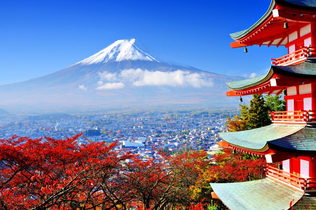 เที่ยวญี่ปุ่น japan chureito pagoda fuji