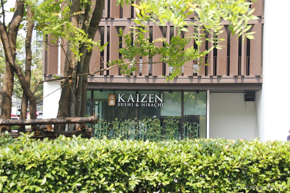 ร้านอาหารญี่ปุ่น Kaizen Sushi & Hibachi ย่านอารีย์ ใกล้ BTS อารีย์