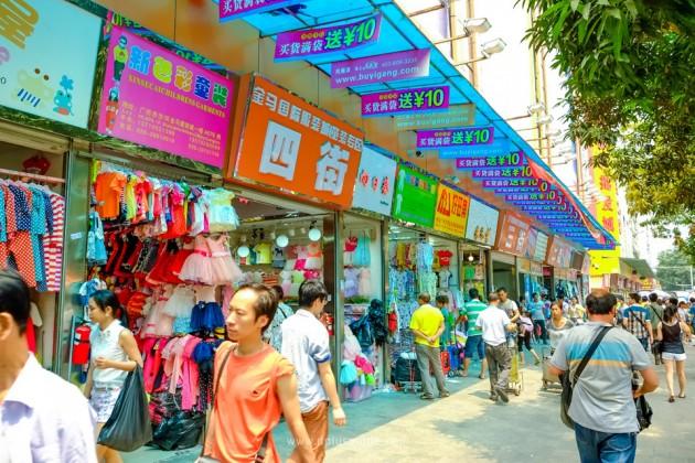 เที่ยวจีน ช้อปสินค้าส่ง ที่กวางโจว ตลาด Shahe (ชาเหอ) ตลาดค้าส่งเสื้อผ้าขนาดใหญ่ติดอันดับ 1 ใน 3 ของกวางโจว