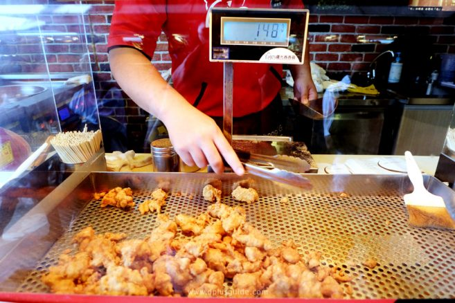 เที่ยวไต้หวัน กินอะไรดี? ไก่กรอบ J&G Fried Chicken - ไทเป