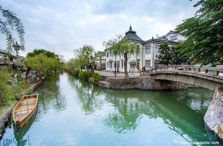 เที่ยวญี่ปุ่น Kurashiki Bikan (ย่านเมืองเก่า)