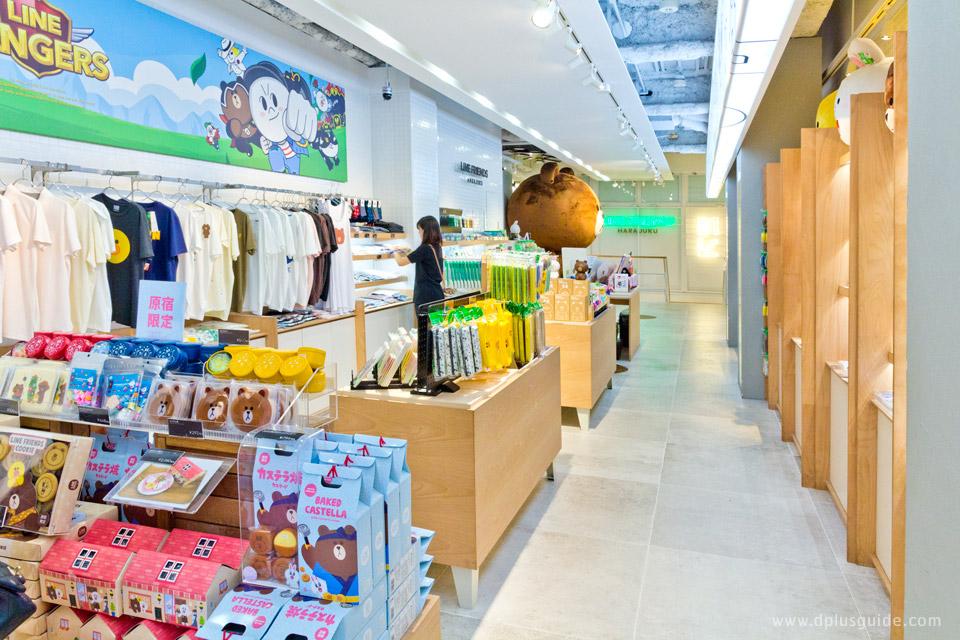 เที่ยวญี่ปุ่นย่านฮาราจุกุ ช้อปสินค้าหมีบราวน์ที่ LINE FRIENDS STORE Harajuku