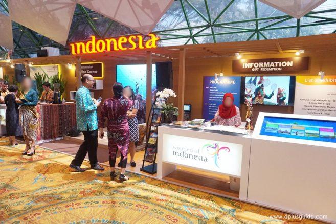 บูธ Indonesia