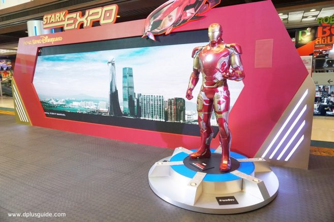 บูธ Disneyland - IRON MAN