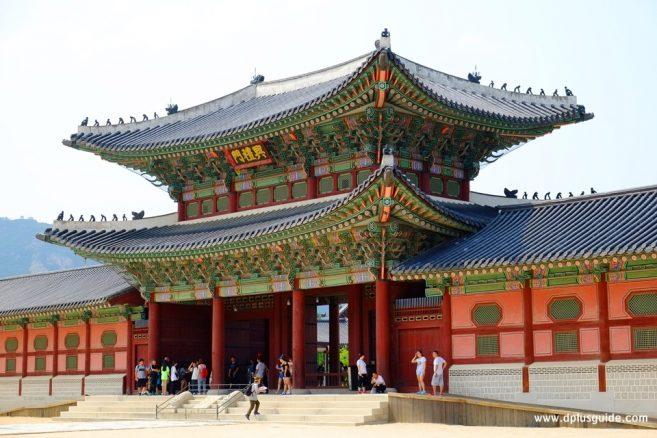 พระราชวังเคียงบ๊ก หรือ เคียงบ๊กกุง (Gyeongbokgung)
