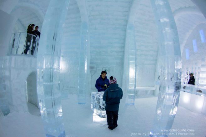 เที่ยวฮอกไกโด บาร์น้ำแข็ง ทะเลสาบชิคาริเบ็ตสึ (Shikaribetsu Lake Village)