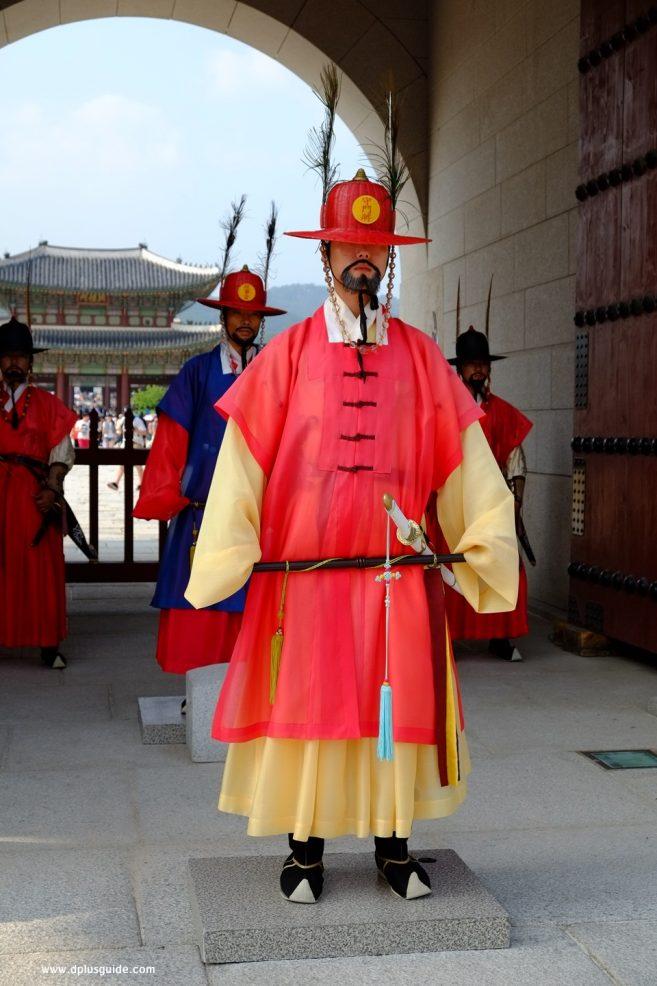 พระราชวังเคียงบ๊ก หรือ เคียงบ๊กกุง (Gyeongbokgung) - พิธืเปลี่ยนเวรยาม