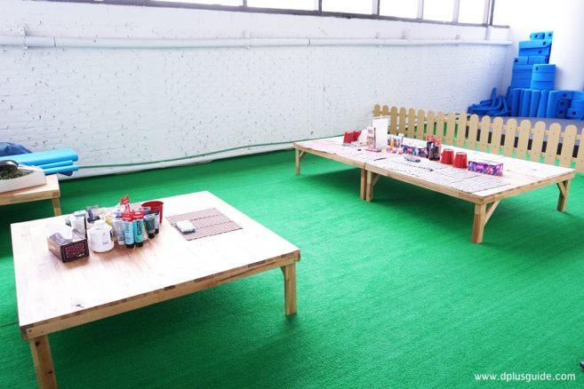 สำหรับผู้ที่สนใจสามารถมาลงสีบนตัวตุ่นได้นะ ทาง Stanley MiniVenture มีอุปกรณ์ให้พร้อม !!
