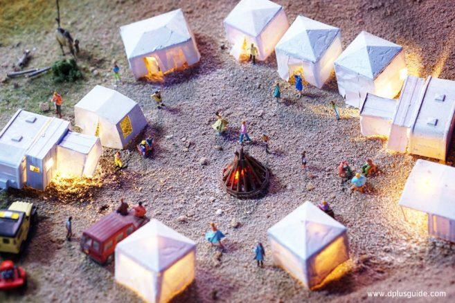 บรรยากาศเมืองแห่งทะเลทราย โซน Desert