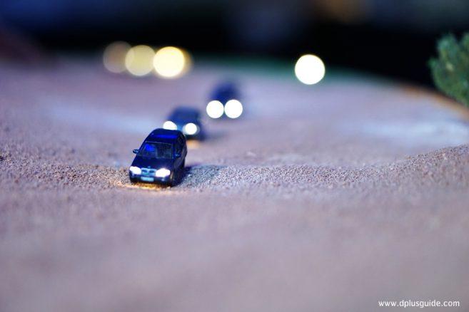 คาราวานรถกลางทะเลทราย
