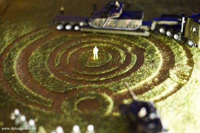 """""""วงกลมแห่งทุ่งเกษตร"""" (CROP CIRCLES) สัญลักษณ์ของมนุษย์ต่างดาว"""