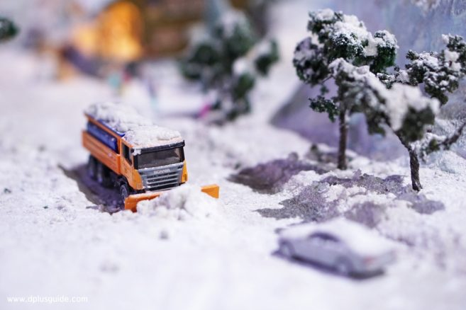รถตักหิมะ