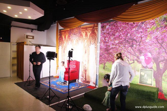 ห้อง Kids Fashion Studio ห้องแฟนซี สำหรับถ่ายภาพ