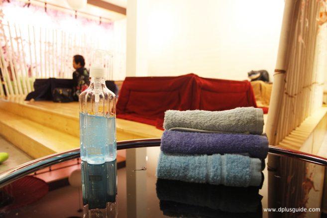 Snow Onsen ห้องแช่เท้าผ่อนคลายไปกับน้ำอุ่น