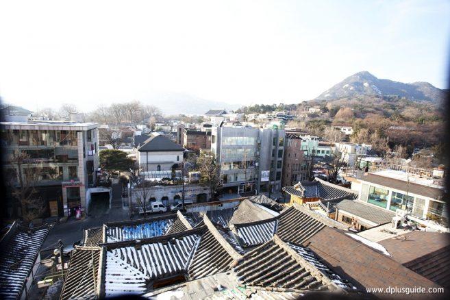 จุดถ่ายรูปที่ 4 : The hill, No.31, Gahoe-dong