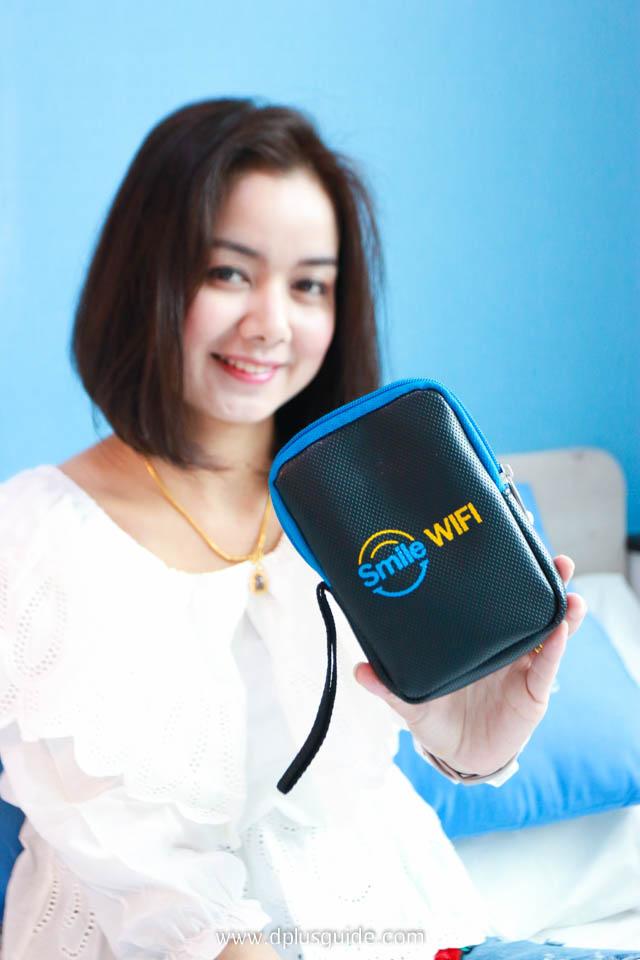 อุปกรณ์ Pocket Wifi ของ Smile Wifi