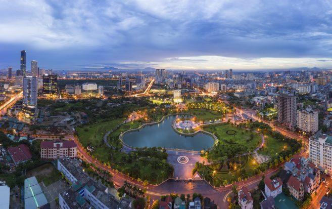 เมืองฮานอย ประเทศเวียดนาม