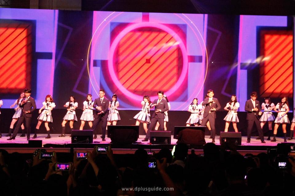 เก็บตก ภาพ BNK48, World Order, เจมส์จิ และสาวน้อย MIRACLE TUNES จากพิธีเปิดงาน JAPAN EXPO IN THAILAND 2017