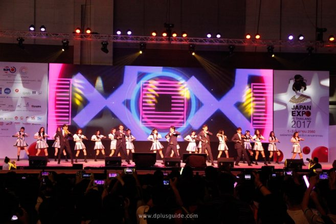 เจมส์ จิรายุมาพร้อมสาวน้อยจากซีรีส์ไอดอลพิทักษ์โลก MIRACLE TUNESและโชว์เปิดงานห้าหนุ่ม World Order ร่วมกับเพลงจากกรุ๊ปไอดอล BNK48สุดอลังการ!