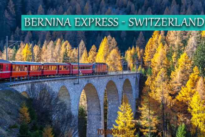 BERNINA EXPRESS - SWITZERLAND
