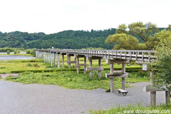 สะพานไม้ที่ยาวที่สุดในญี่ปุ่น (Horai)