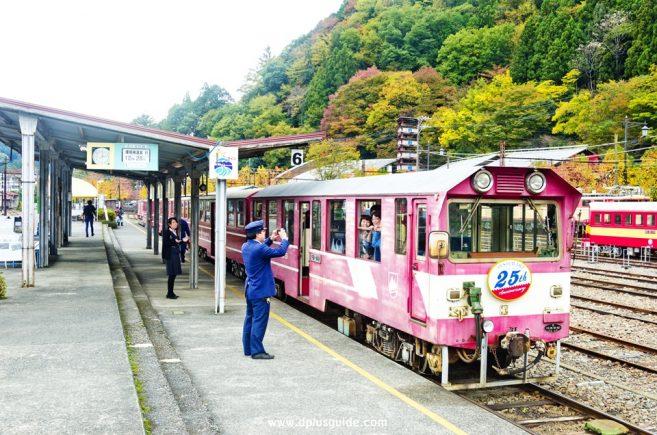 Ikawa-sen รถไฟสายชมเขื่อน