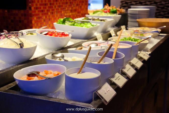 บุฟเฟต์อาหารนานาชาติ Marriott Buffet