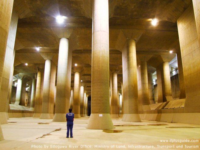 อุโมงค์ยักษ์ที่ใหญ่ที่สุดในโลกที่ญี่ปุ่น