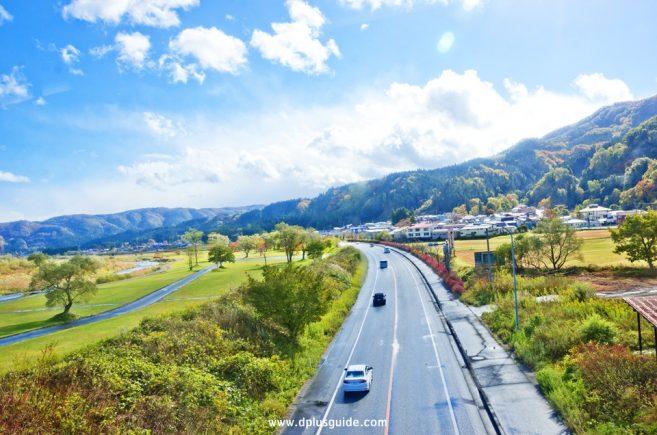 บรรยากาศข้างทาง Resort Minori for Sendai ไออุ่นแห่งท้องทุ่ง