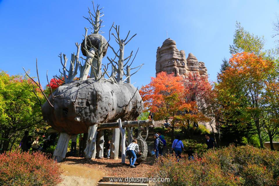 สวน Takino Suzuran โซนกิจกรรม